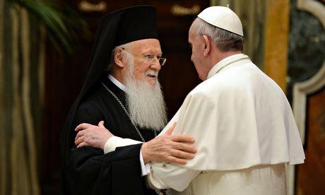 Pope Francis, Bartholomew I