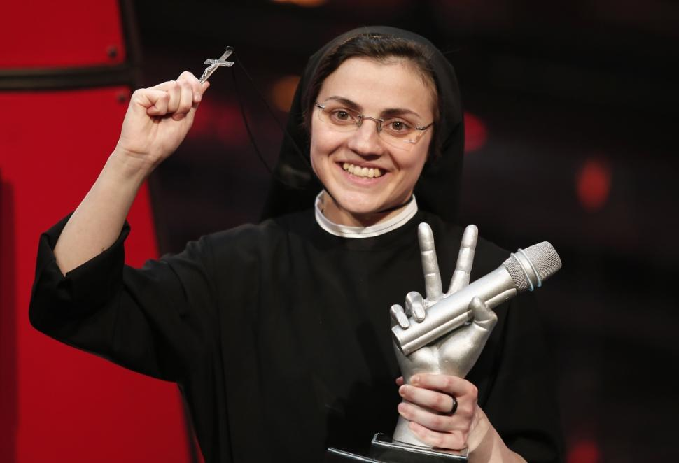 Sister Cristina wins the voice of Italy