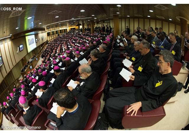 Thượng Hội Đồng Giám Mục đang họp hội nghị