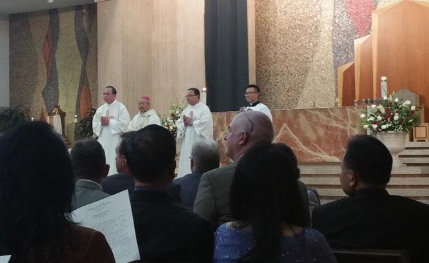 Thánh lễ tạ ơn GM Mai Thanh Lương