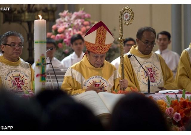 Đức cha Ignatius Suharyo tại Indonesia