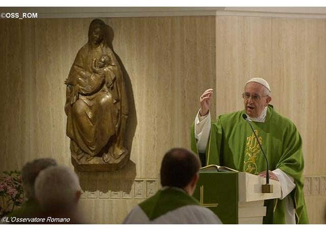 Thánh lễ sáng thứ Ba, 17.05, tại nguyện đường Thánh Marta