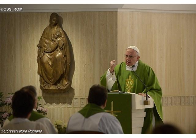 Thánh lễ sáng thứ Hai, 23.05, tại nguyện đường Thánh Marta