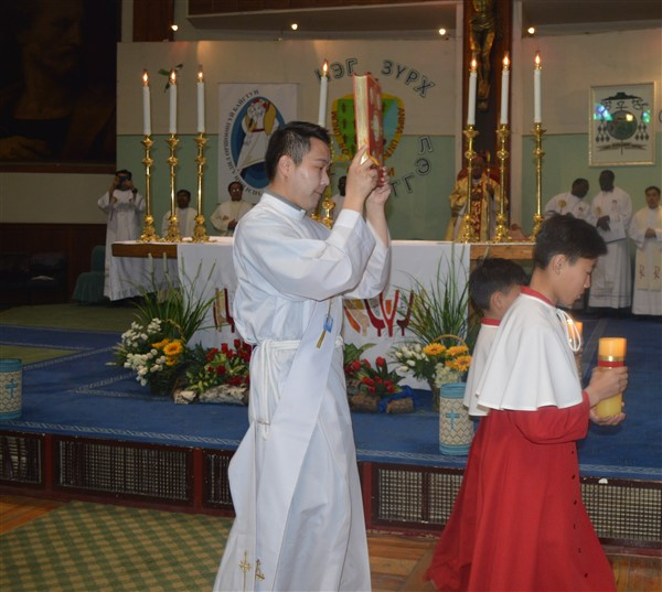 First Priest ordained in MONGOLIA
