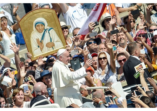 Holy Mass and the canonization of Mother Teresa of Calcutta