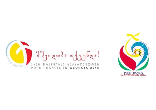 Logo chuyến viếng thăm Azerbaijan của Đức Giáo hoàng Phanxicô