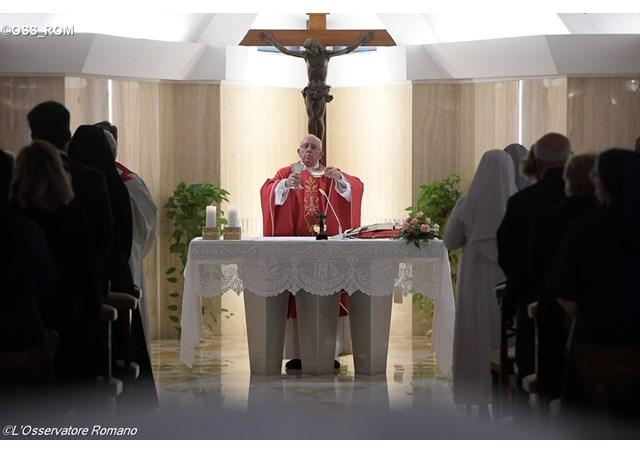 Thánh lễ tại nhà nguyện Marta, 16.09.2016