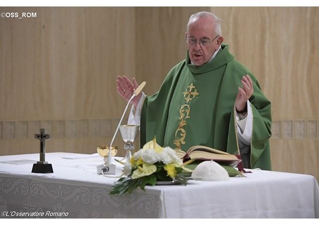 Thánh lễ tại nhà nguyện Marta, 22.09.2016