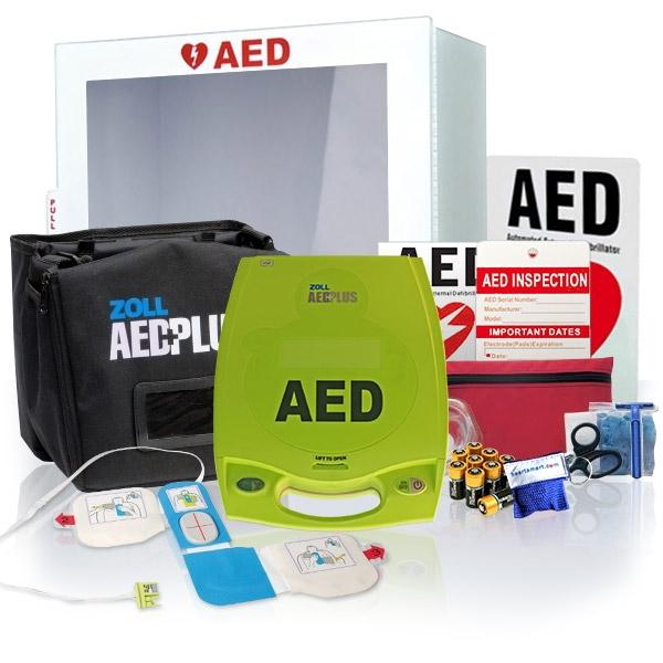 AED defibrillators - BUS-PKG-PLUS-2